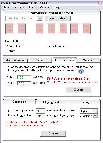 Advanced Poker Bot