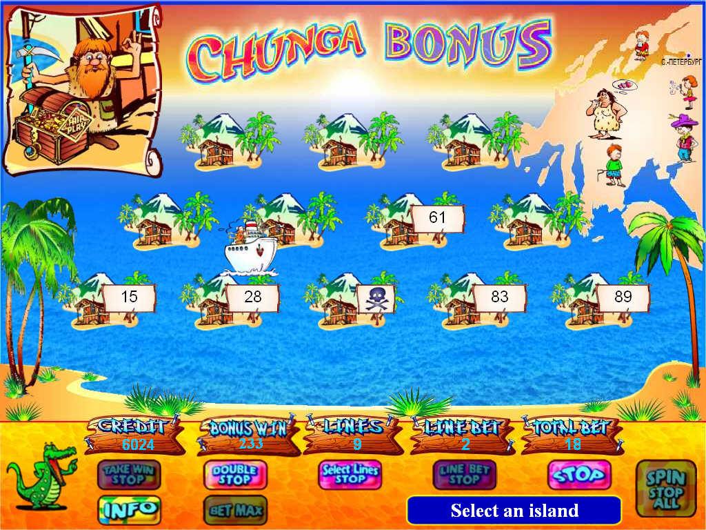 Эмулятор игрового автомата Chunga Сhanga
