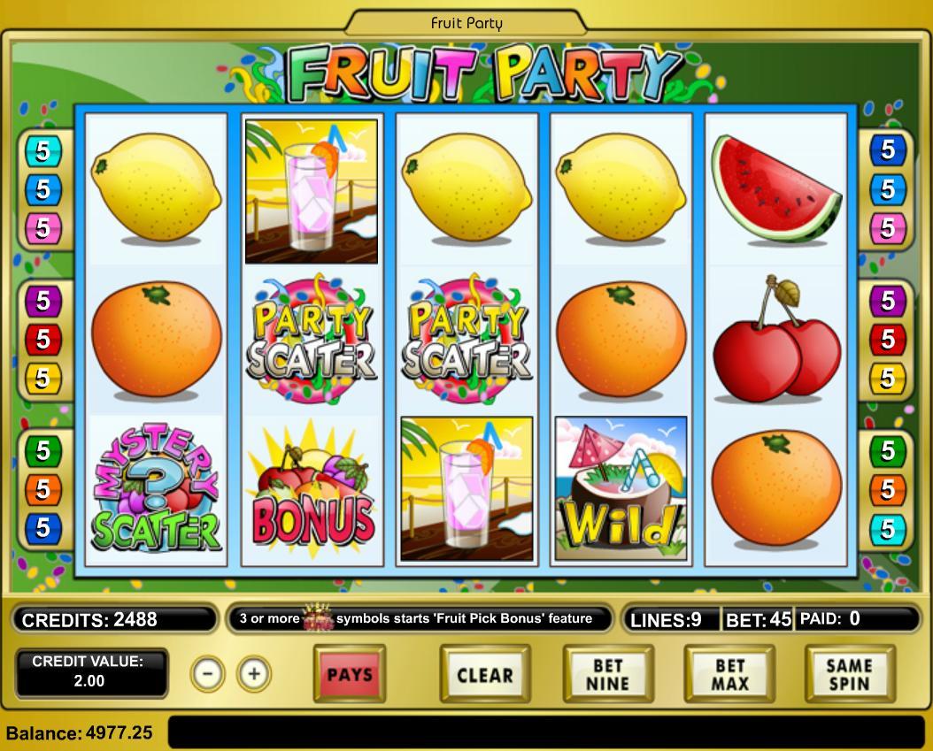 Fruit Party - ИСХОДНИК для интернет казино