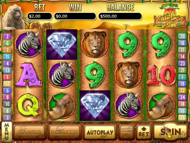 Эмулятор игрового автомата Vegas