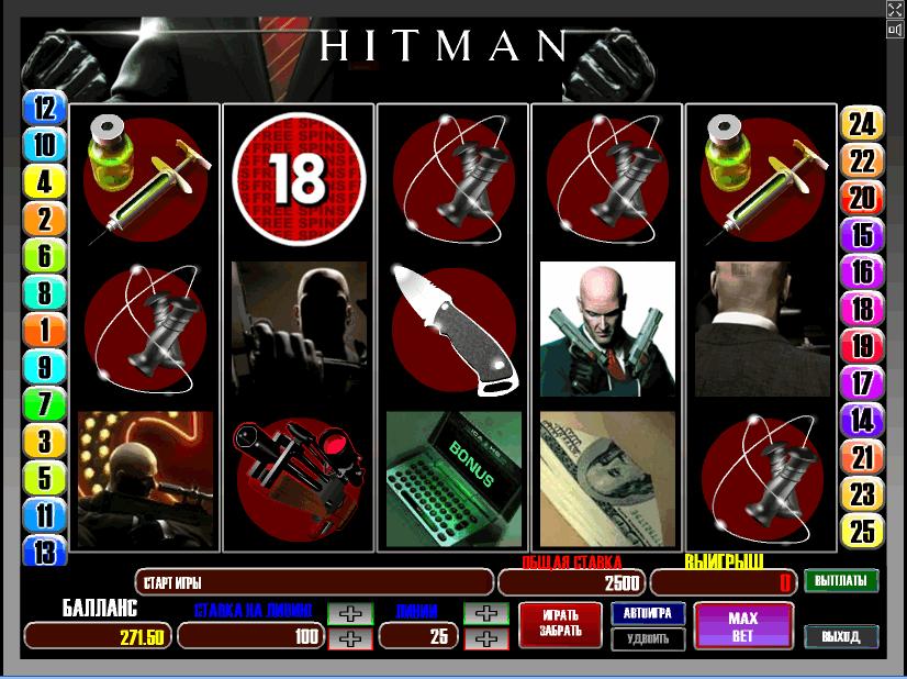 Игра HITMAN 100 $   (25 линейная)