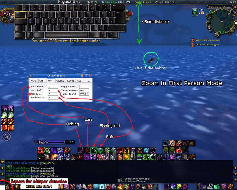 WoW Бот рыбалки (Fishing Bot) новый v2.0.7! от 8.06.09