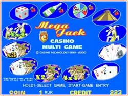 Эмулятор игрового автомата Mega jack (Aztec Gold)