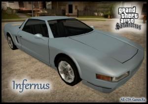Infernus в GTA San Andreas