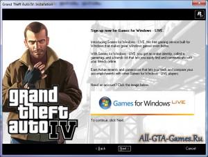 Регистрация аккаунта на Games For Windows - Live