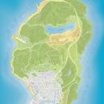 Обычная карта GTA 5