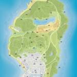 Карта обрывков писем