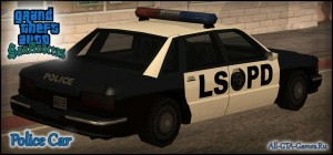 Police Car в GTA San Andreas