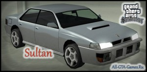 Sultan в GTA San Andreas
